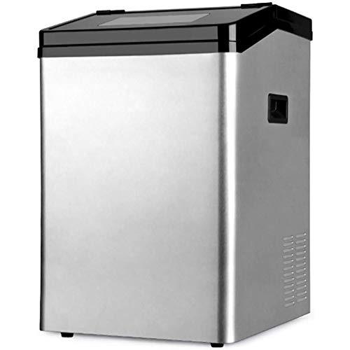 YHLZ Eismaschine Gewerbe Tea Shop 55kg Große Flaschen Wasser Haushaltsklein Eisblock Automatische Eismaschine 120 Lbs EIS in 24 Stunden, mit 22 Lbs Speicherkapazität