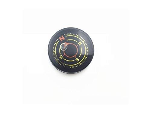 Plsonk Explorer Compass, Outils de Navigation de Lubrification Multifonctions explorent la Boussole extérieure pour la randonnée (Noir) Outil de Navigation