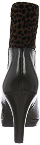 Caprice Damen 253 Kurzschaft Stiefel Schwarz (Black Multi 11)