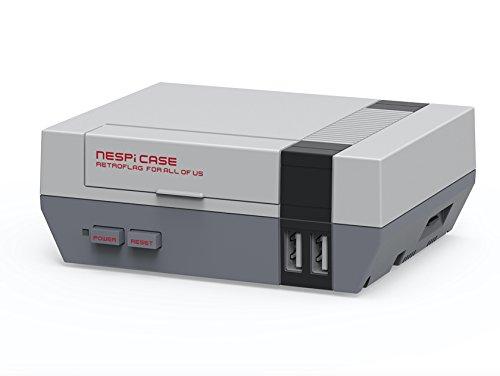 Raspberry Pi NES NesPi Retroflag Tasche für Raspberry Pi 2/3/1 B + (Pi Case Raspberry Nes)