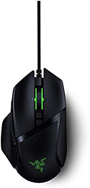 Razer RZ01-03160100-R3M1 Basilisk v2 Wired Gaming Mouse: 20K DPI Optical Sensor Chroma RGB Lighting - 11 Programmable Button
