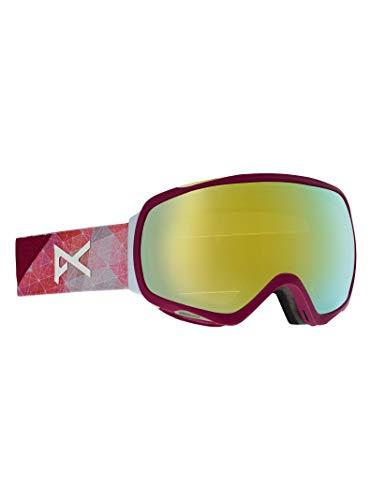 Anon Damen Tempest Snowboardbrille, Geo/Sonar Bronze