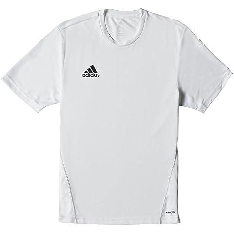 adidas COREF TRG JSY - Camiseta para hombre, color blanco / negro, talla 2XL