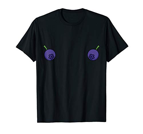 Kind Blueberry Kostüm - Blueberry BH Kostüm Nettes Frucht Halloween Outfit T-Shirt