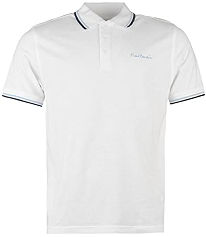 Pierre Cardin Herren Poloshirt Gr. XL, weiß