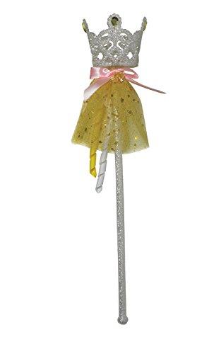 Rubie 's Offizielles Glitzer Belle Zauberstab, Kind Kostüm–Eine Größe