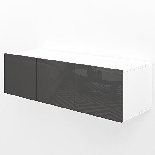 VICCO TV Lowboard Sideboard Wandschrank Fernsehschrank Wohnwand Hängeschrank