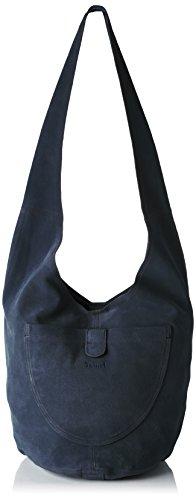 Think! Damen Bag Schultertasche, Blau (NAVY 87), 30x28x43 cm