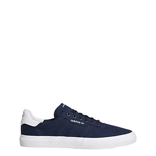 adidas Unisex-Erwachsene 3MC Skateboardschuhe, Blau Maruni/Ftwbla 000, 42 EU - Adidas Skate-schuhe