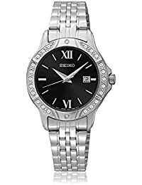 Seiko Stainless Steel Ladies Watch SUR861 (Certified Refurbished) 583c01682861