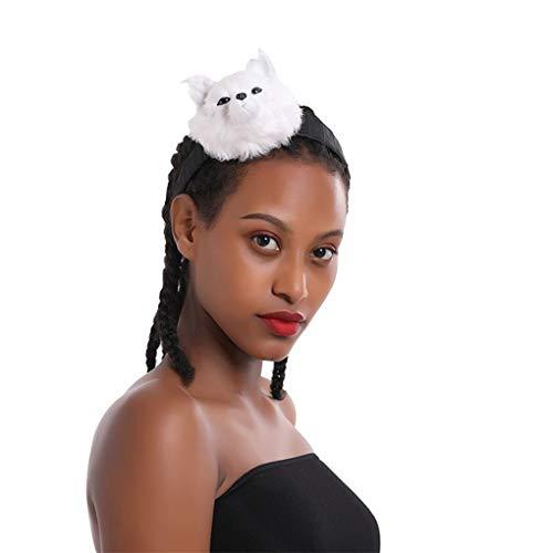 Dorical Halloween haarbänder künstliche geweih Stirnband Haarband Cosplay kostüm Haarschmuck für Kinder Halloween Weihnachten Stirnbänder Dekoration(N)