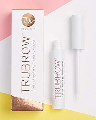 TRUBROW - eyebrow serum   for fuller, stronger brows   fills gaps, rich in nourishing ingredients   5 ml