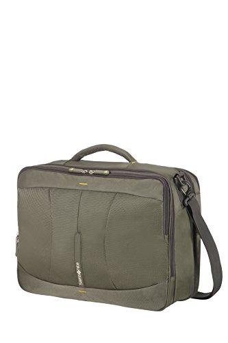 Imagen de samsonite 4mation 3 way shoulder bag exp  tipo casual, 36.5 litros, color oliva/amarillo