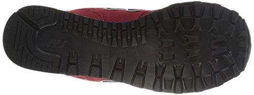 New Balance NBWL574POP, Chaussures Premiers Pas Femme Rojo / Azul