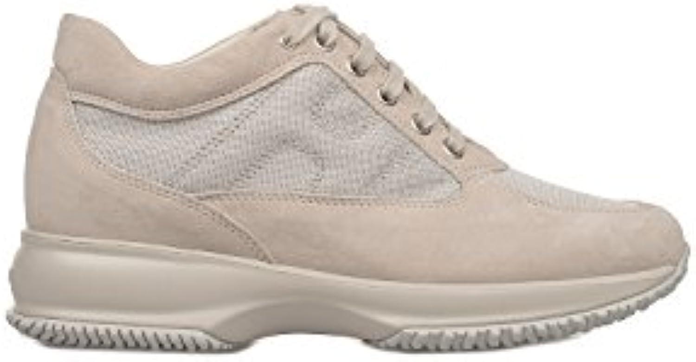 Hogan Mujer HXW00N00E10FI70211 Gris Cuero Zapatillas  Venta de calzado deportivo de moda en línea