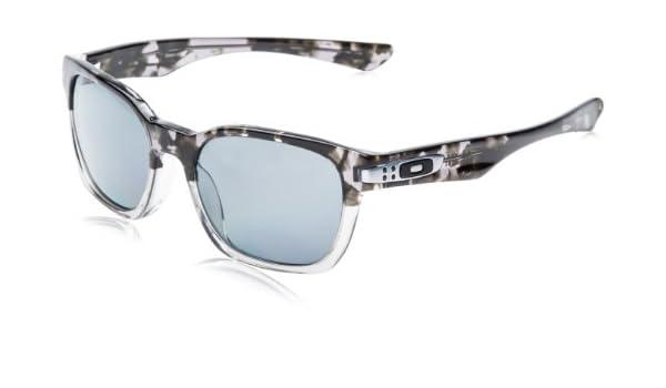 41a7456685 Oakley Garage Rock LX Men s Asian Fit Polarized Sunglasses - Grey Tortoise  Fade Grey  Amazon.co.uk  Clothing