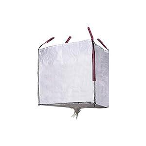 31A QXCl2WL. SS300  - Big Bag Escombros con Válvula Descarga Medida:90x90x90 cm Peso Max,:1000 kg