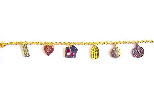 Ciondoli sempre London Joella placcato oro 18K designer braccialetto per ragazza e donna