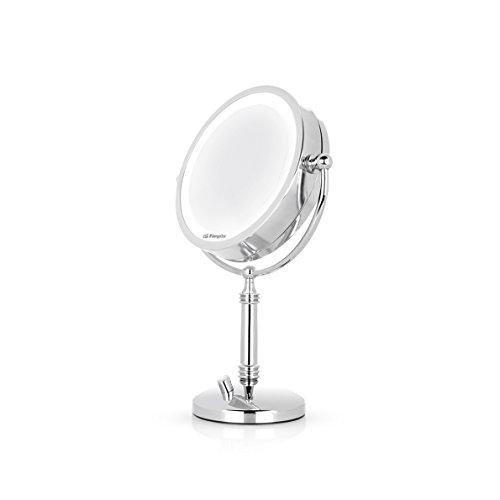 Orbegozo ES 5140 - Espejo maquillaje luz LED intensidad