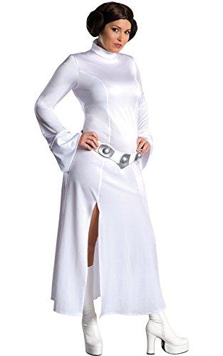 Rubie's offizielles Star-Wars-Prinzessin-Lea-Kostüm für Erwachsene, Größe XL (Leia Kostüm Prinzessin)