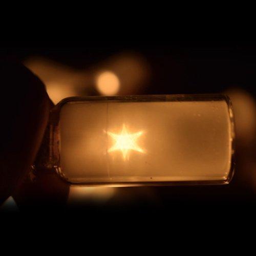Katomi 20 LED-Lichterketten Wishing Flasche Glasflasche Weihnachtsbeleuchtung Fall Batterie - 2