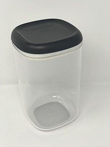 Tupperware Tupper Skyline glasklar luftdicht 1,3 Liter Kaffeedose Vorrat Eleganzia Exklusiv Clear Collection