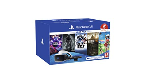 PS VR - Mega Pack V2 -PS VR headset + PS Camera +5 Giochi- Bundle
