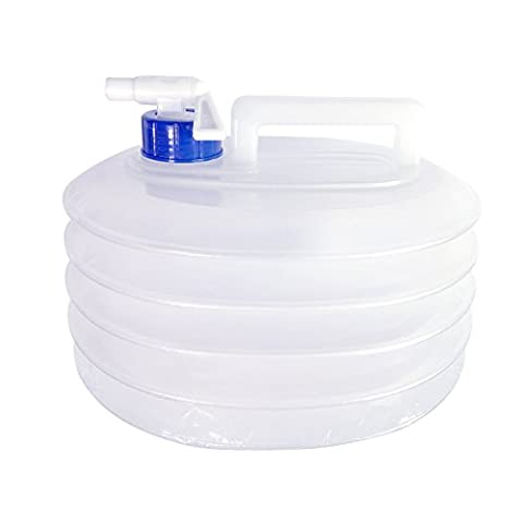 Qinghu 5 Litre /10 Litre /15 Litre Collapsible Water Container, Portable Water Carriers for Caravans Camping Climbing Travel Hiking Hunting, Outdoor Activities Water