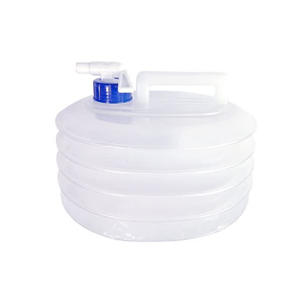 Qinghu 5 Litre /10 Litre /15 Litre Collapsible Water Container, Portable Water Carriers for Caravans Camping Climbing Travel Hiking Hunting, Outdoor Activities Water Bucket 1