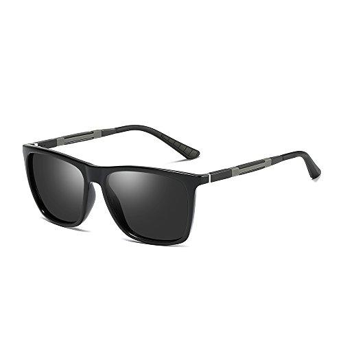 BVAGSS Herren Polarisiert Sonnenbrille Outdoor Fahren Sportbrille Ultra Leicht UV400 Schutz für Männer