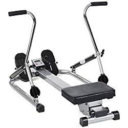 O'Fitness x - Máquina de Remo para Fitness, Color Blanco, Talla 120 x 80 x 30 cm