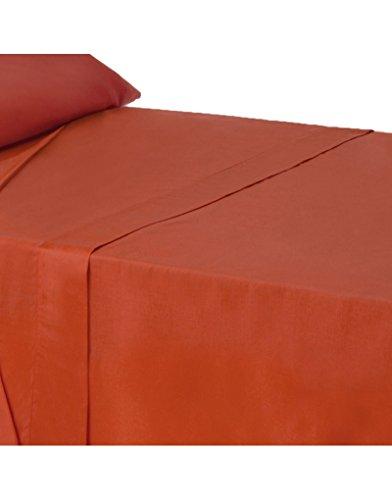 Hogar y Mas Haus und mehr - Bettlaken arbeitsplatte für bett 90 farbe rot -
