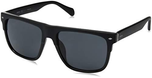 Fossil Fos3075/S-003-56 Herren Sonnenbrille, Schwarz, 56