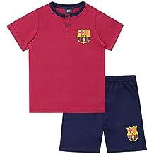 FC Barcelona Pijamas de Manga Corta para niños Football Club