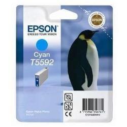 Epson T5592 Cartouche d'encre d'origine Cyan pour RX700