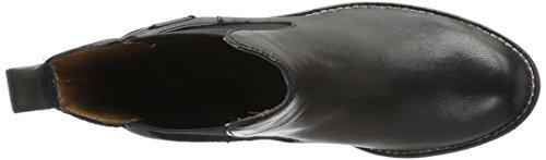 Pepe Jeans Seymour Chelsea, Desert Boots Femme Noir (999Black)