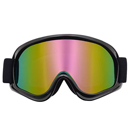 SEN Gafas de Moto Gafas todoterreno Gafas de Casco Gafas de Motociclista Coloridas