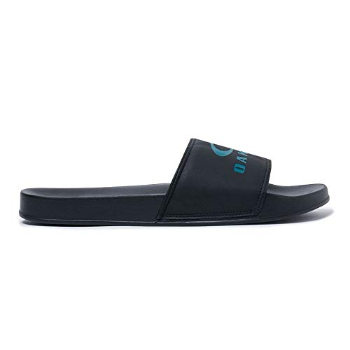 Oakley 15205-02E-6 Ellipse Slide Blackout UK 6 Flip Flop