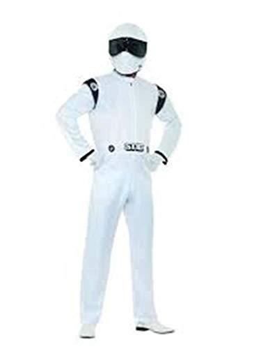 Smiffys Top Gear,The Stig Costume,Topgear Licensed Fancy Dress, ()