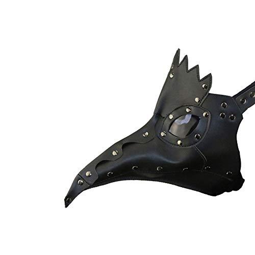 BWMY Halloween Schnabel Abschlussball Maske Party Europa Und Die Vereinigten Staaten Erwachsene Kind Karneval PU Modellierung, 30 * 20 * 25 ()