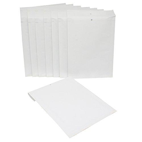 10 Stück C3 Luftpolstertaschen C/3 230mm x 170 mm Weiß ohne Aufdruck Versandtasche zum verpacken Umschläge Briefumschlag mit Polster