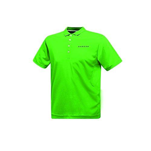 Dare 2B Herren Plenary Active Polo-Hemd, kurzärmlig Grün
