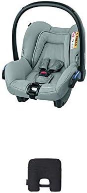 Bébé Confort Seggiolino Auto Citi Ovetto Neonato 0-13 Kg, Nomad Grey, con Dispositivo Antiabbandono, Nero