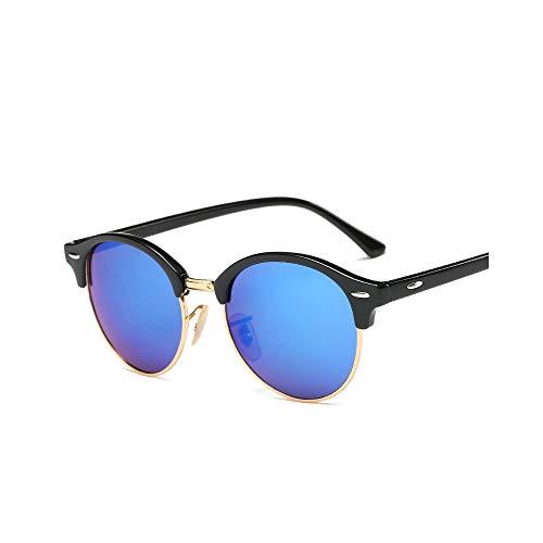 MINGW- Sunglasses Women Popular Men Summer Style Sun Glasses Rivet Frame Colorful Coating Shades