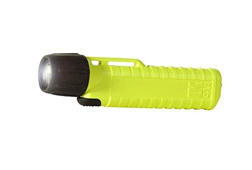 feuerwehrlampe Underwater Kinetics Helm Lampe 4AA-ES Xenon, Ex, 38 Lumen, Frontschalter, safety-gelb, 14180 F
