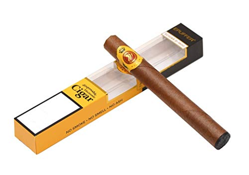 Epuffer Electronico Ecigar Cigarro Desechable 1800 Puff Sabor Puro Cubano (sin nicotina ni Tabaco)