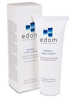 Edom - Handcreme Totes Meer - Handcreme für sehr trockene Haut - 100 g – mit Mineralien des Toten Meeres