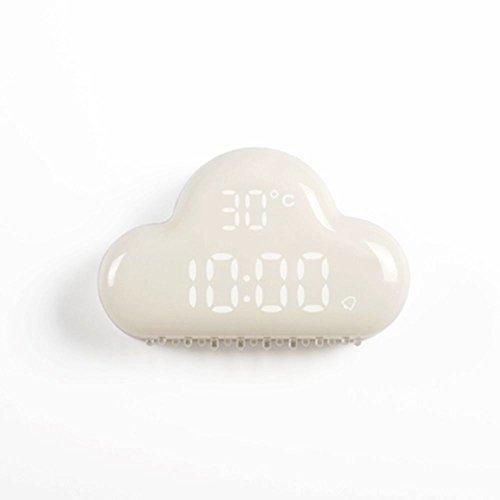 Good Despertador Nubes USB Digital Despertador Nubes