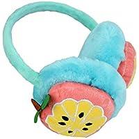 SUPRERHOUNG Preciosas Orejeras de Fruta Caliente Invierno al Aire Libre Warm Plush Earwarmers para Mujeres (Color al Azar)