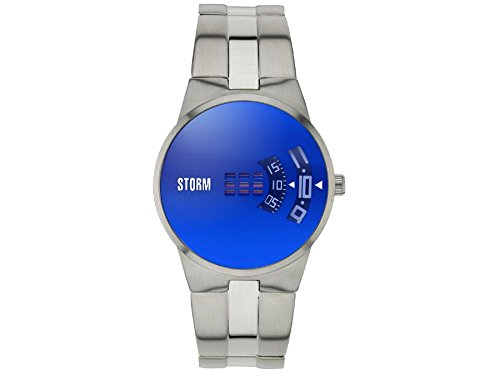 STORM London New Remi Herrenuhr silber/blau 47210/B